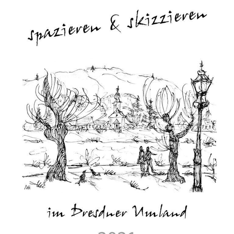 "Skizzenkalender ""Dresdner Umland 2021"" – DIN A3"